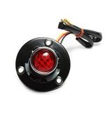 Motorrad LED Rücklicht Retro-Stil mit Kennzeichenbeleuchtung