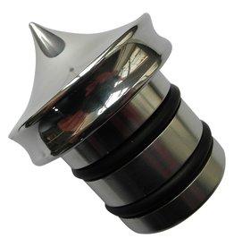 Oil Tank cap - Aluminum - No dipstick