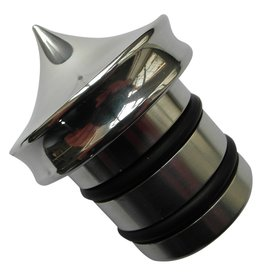Oil Tank cap - for HD - Polished - No dipstick