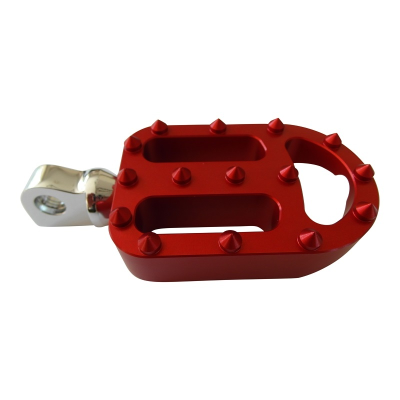 Footpegs / Footrests for Harley Davidson Motorcycle - RED