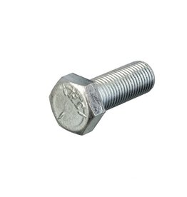 "Hexagon bolt 3/8 -24 UNF Galvanized steel x 1 ""(25mm)"