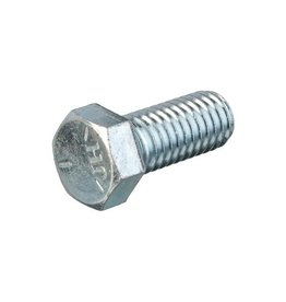 "Hexagon bolt 7/16 -14 UNC Galvanized steel x 1 ""(25mm)"