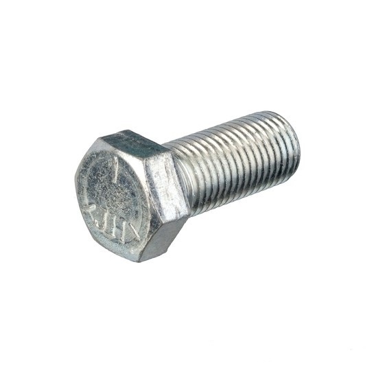 "Hexagon bolt 7/16 -20 UNF Galvanized steel x 1 ""(25mm)"