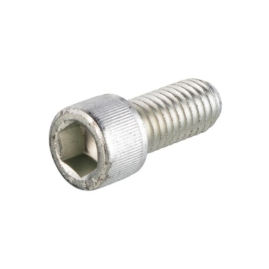Allen bolt 7/16 - 14 UNC Galvanized steel x 1 inch (25 mm)
