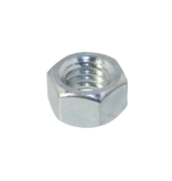 Nut 3/8-24 UNF Steel galvanized