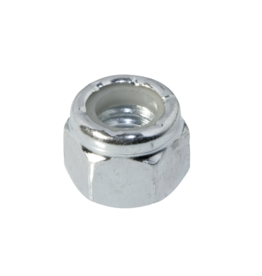Nut 1/4 - 20 UNC Self-locking Galvanized steel