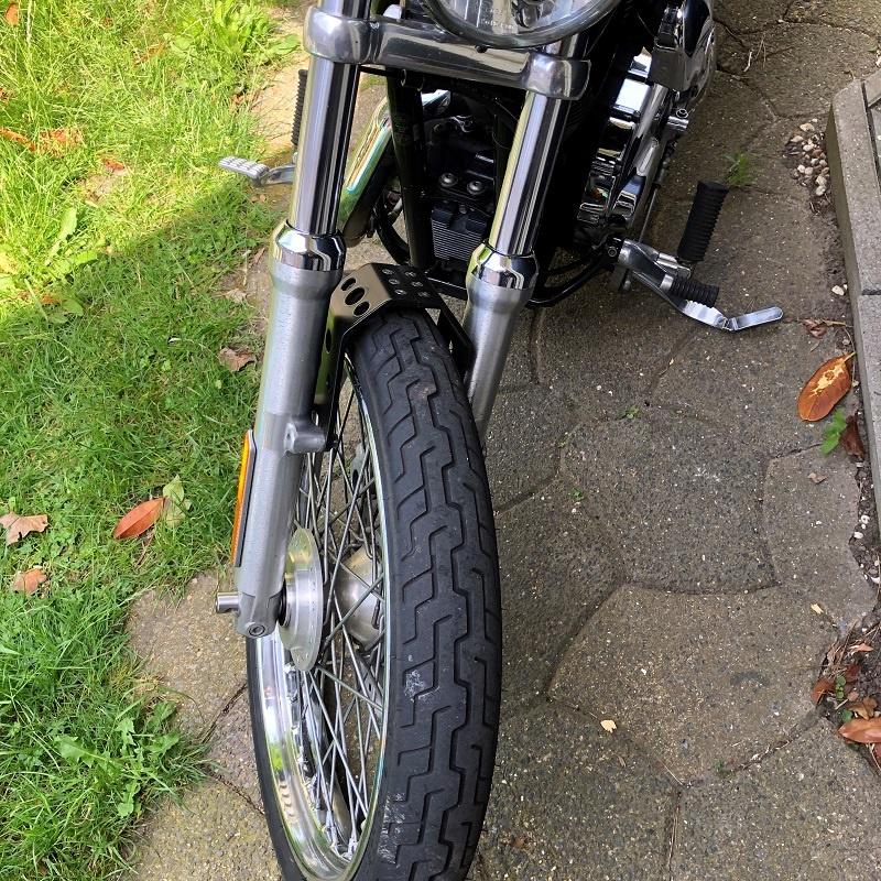 """Voorvorkstabilisator voor Harley Davidson Sportster - Inclusief 21"""" wielen"""