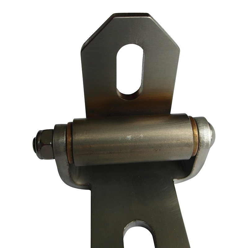 Motorcycle Seat Hinge for solo motorcycle seat - made of stainless steel