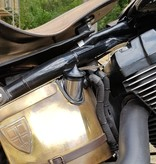 Olie Tankdop - voor Harley Davidson - Zwart
