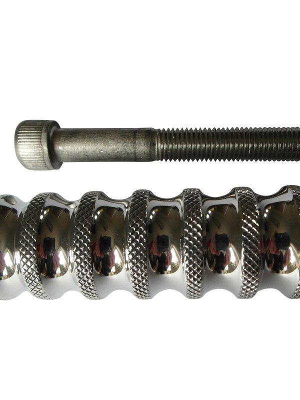 Voetsteun voor Harley Davidson - Aluminium