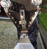 Motorrad-Sitzscharnier für Solo-Motorradsitz - aus Edelstahl