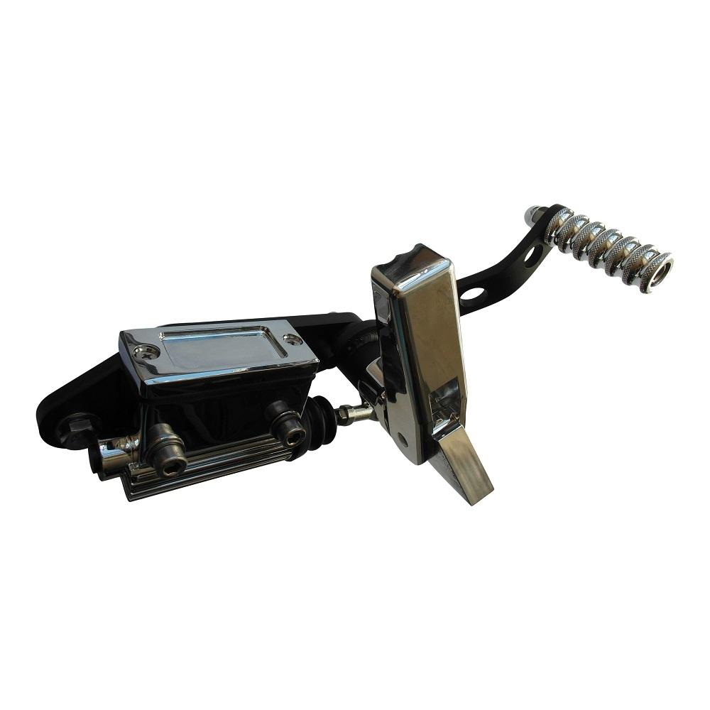 Fußrastenanlage für Shovelhead 36-99 - Aluminium