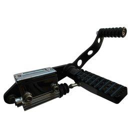 Zwarte Forward Controls voor HD BigTwin 36-99