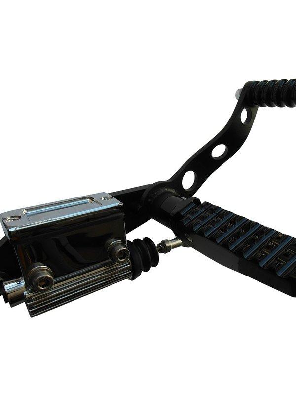 Black Forward Controls for HD BigTwin 36-99