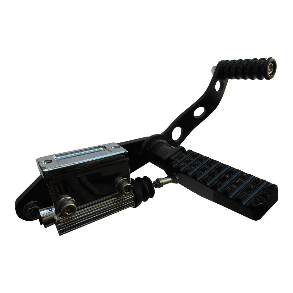Forward Controls voor Shovelhead 36-99 - Zwart