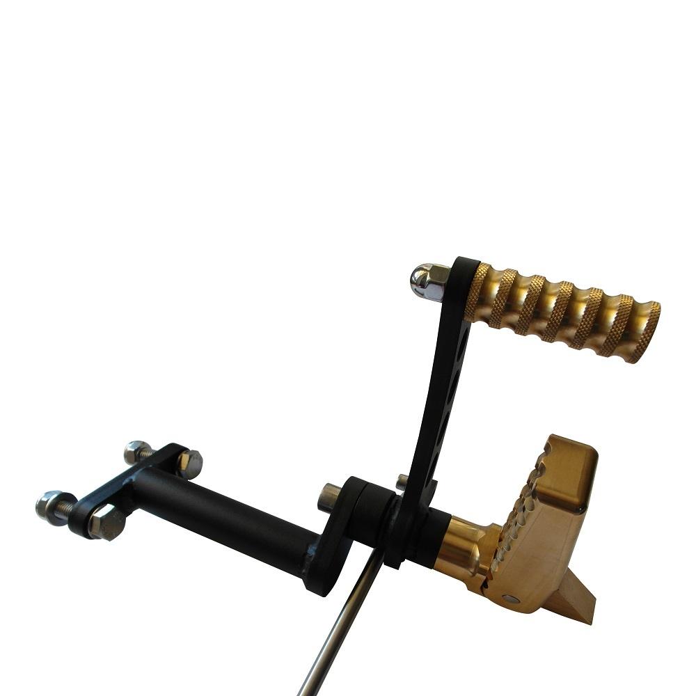 Messing Forward Controls voor Sportster bouwjaar 1986-2003