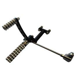 Fußrastenanlage für HD Sportster 86-03 - Aluminium
