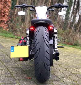 Side Mount kentekenplaathouder met LED Kentekenlamp