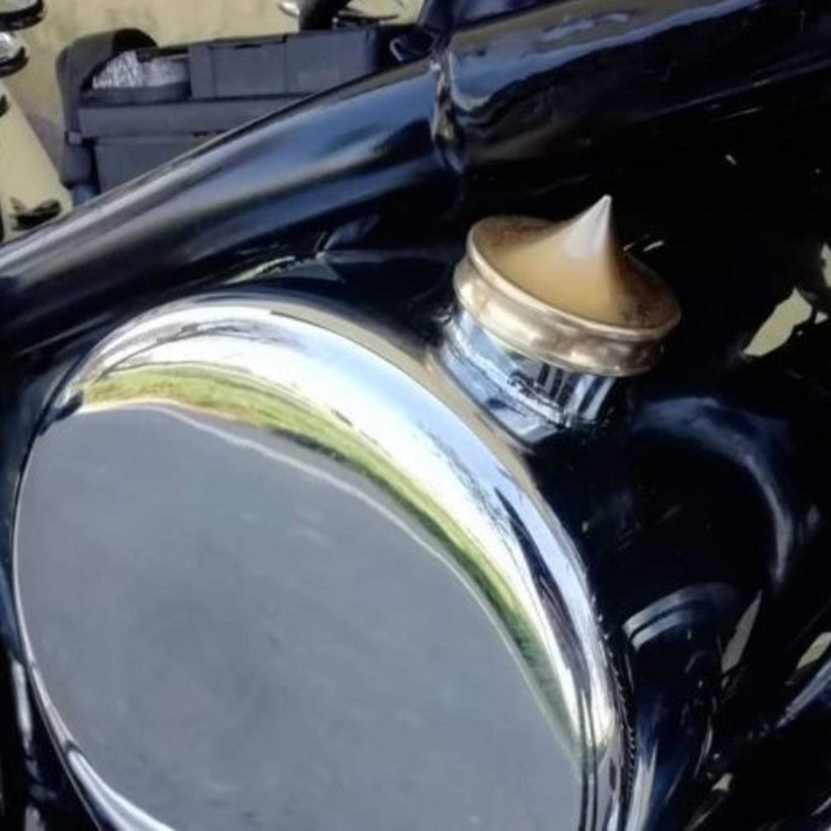 Olie Tankdop - voor Harley Davidson - Messing - Geen peilstok