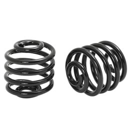 Motorcycle Spiral Springs Black 2 inch