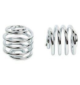 Motorcycle Spiral Springs Chrome 2 inch