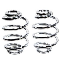 Motorcycle Spiral Springs Chrome 3 inch