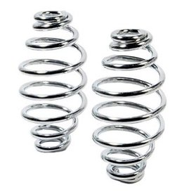 Motorcycle Spiral Springs Chrome 5 inch