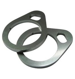 Exhaust flanges for HD Shovelhead - stainless steel