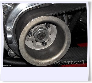 Kurbelwellenmutter-Bohrer - für Harley Davidson Shovelhead mit offenem Riemen