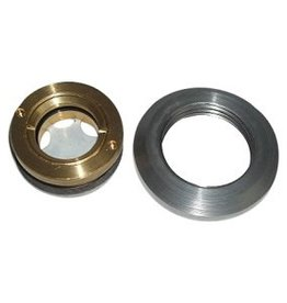 Brass gauge - for custom oil tank or fuel tank