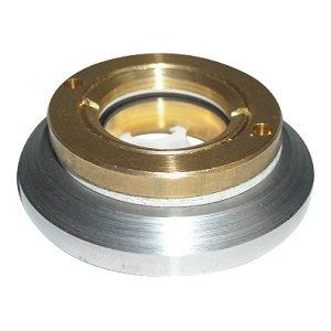 Messing Peilglas - voor custom olie tank of benzine tank