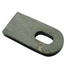 Stahlschweißband 3/8 (8mm) slot 50mm