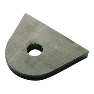 Mounting Tabs - Steel welding strip - Brake anchor 3/8 - 9.5mm