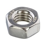 1/4 UNF - 28 Nut Stainless Steel