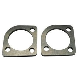 STD - Exhaust flanges for HD Shovelhead - stainless steel