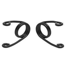 Hairpin Motorrad Sitz-Federn Schwarz 3 Zoll