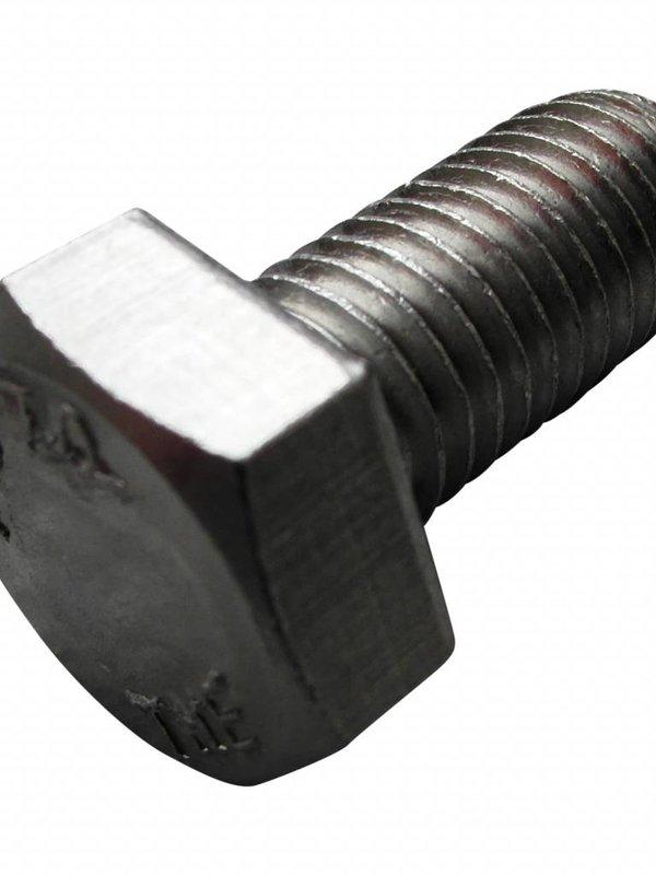 Zeskantbout RVS M12 x 25mm
