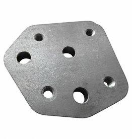 Montageplatte für einen ständer / jiffy eines HD Shovelhead