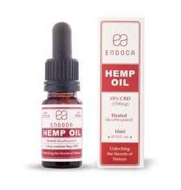 Endoca - Hemp Oil 10Ml 15% Cbd