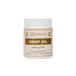 Endoca Cbd Capsules 1500 Mg