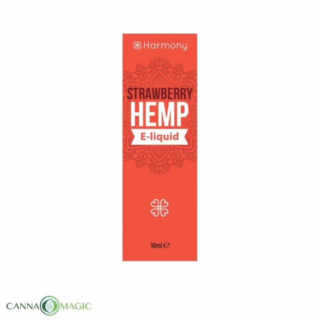 Harmony - CBD e-Liquid  Strawberry Hemp