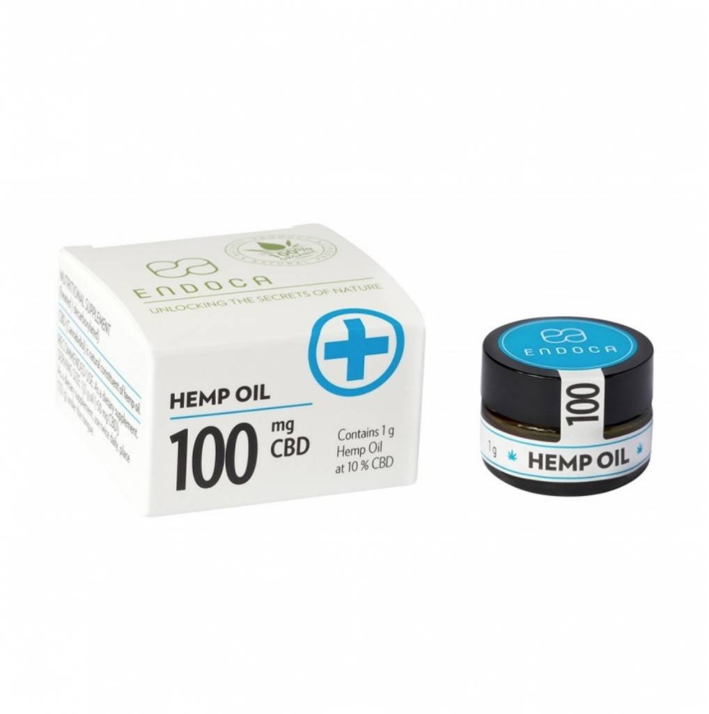 Endoca Hemp Oil Paste 1 Gram 10% Cbd