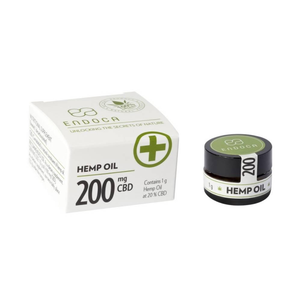Endoca Hemp Oil Paste 1 Gram 20% Cbd