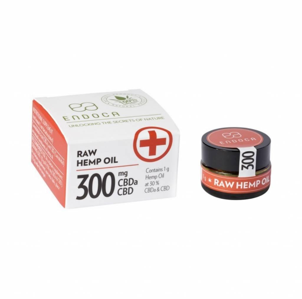 Endoca Hemp Oil Paste 1 Gram 30% Raw Cbd