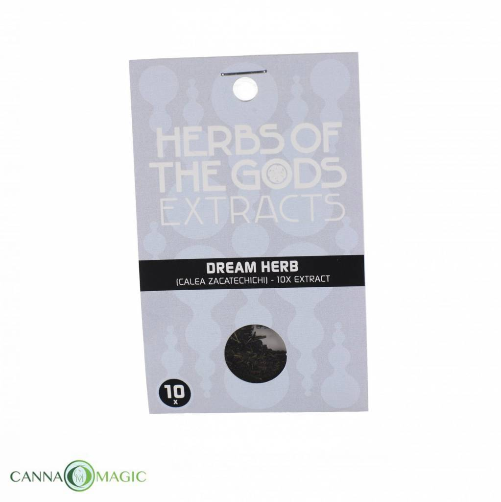 Herbs of the Gods - Droomkruid (Calea zacatechichi) extract 10X