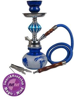 Sahbi Shisha Blue 27cm, one hose