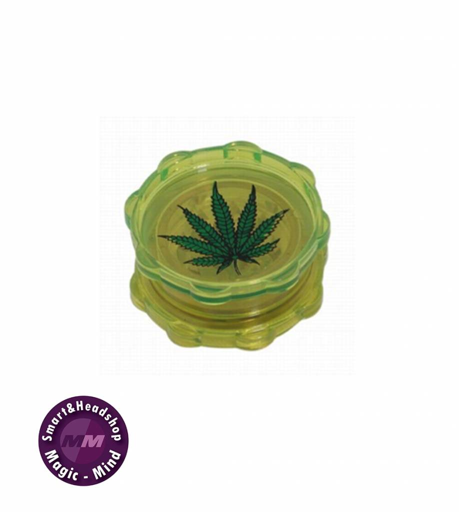 Grinder Plastic Leaf (Ø53mm, 2 parts)