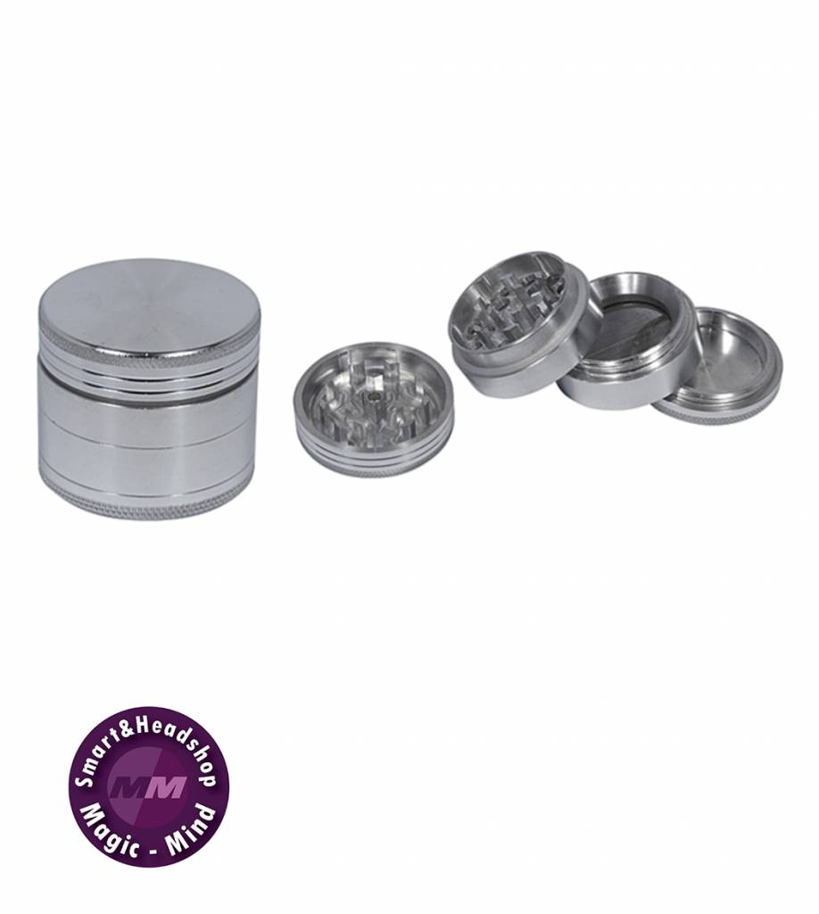 Grinder Aluminium Anodised (Ø38mm, 4 parts)