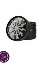 Grinder Aluminium 50mm 'After Grow' - Thorinder Silver