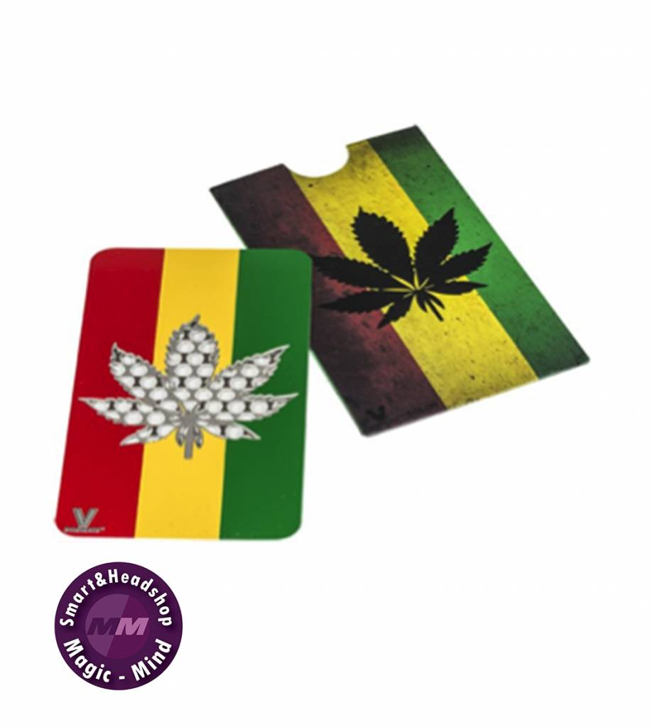 Credit Card Grinder: Rasta Leaf